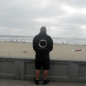 Triosphere Hoodie at San Diego's Mission Beach!