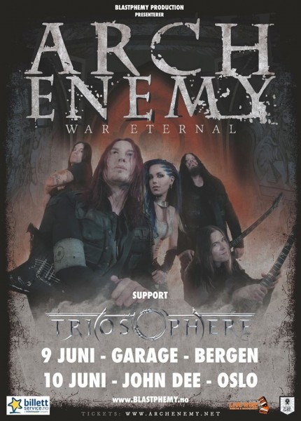 Arch Enemy-Triosphere poster