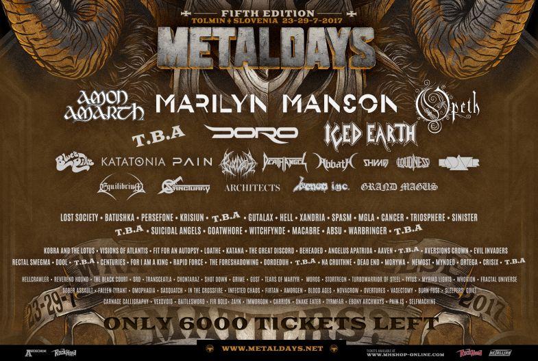 Tolmin metal days Metaldays 2021