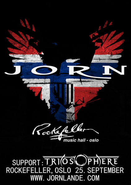 Rockefeller, Sept 25th, Triosphere and Jorn