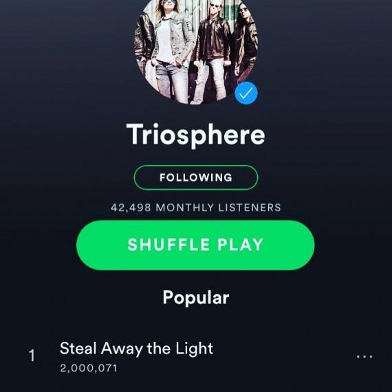 Spotify 2mill