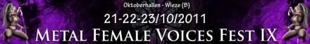 Female Voices Metal Fest IX (2011) banner